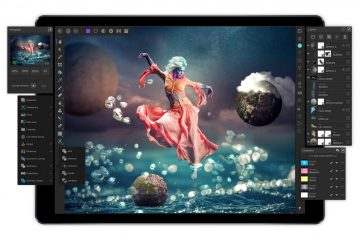 Affinity Photo sur Ipad